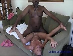 video relacionado Podría estar horas sin parar teniendo sexo casero con su amante negro